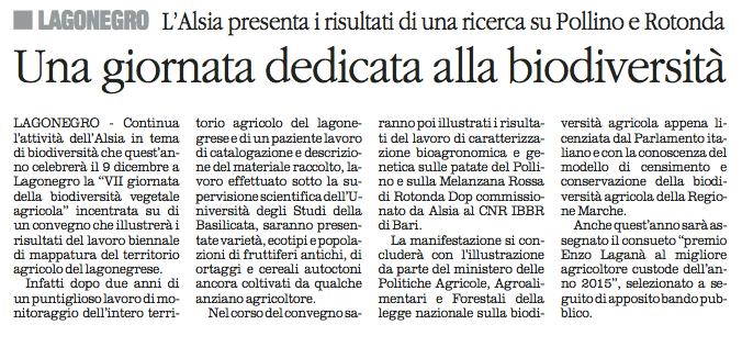 biodiversità quotidiano 4 12 2015