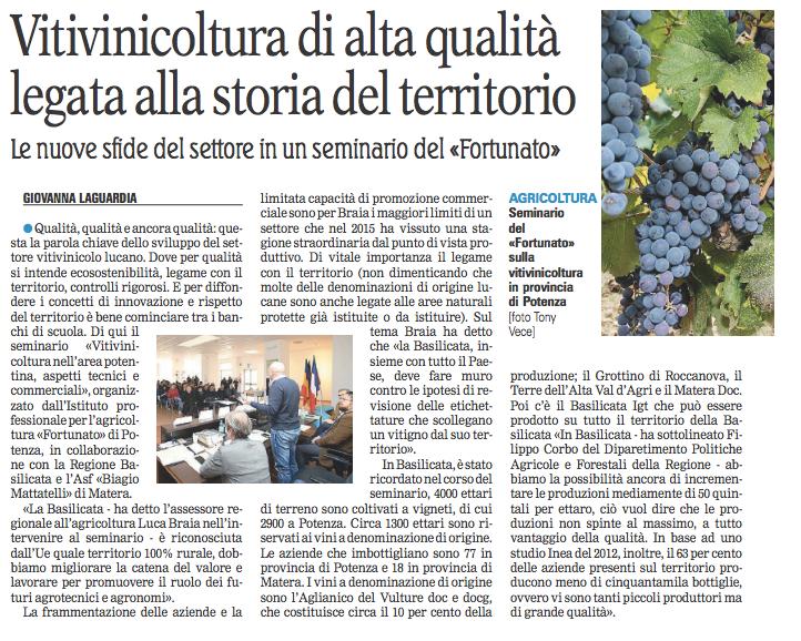 vitivinicoltura gazzetta 02 02 2016