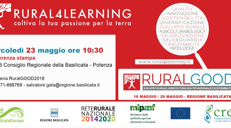 CONFERENZA STAMPA SU PROGETTO RURAL4LEARNING