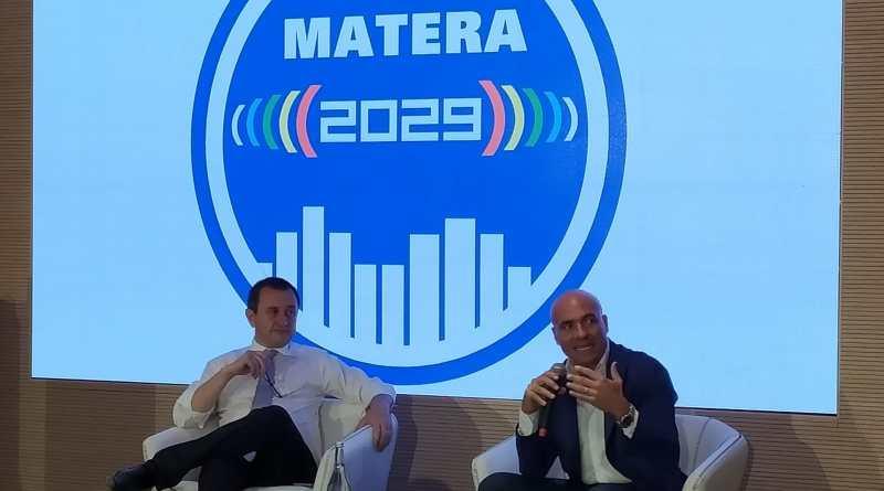 Ettore Rosato a Matera: impegni per la città non urla in piazza. Matera2029