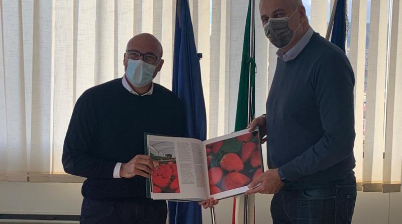 Ho incontrato l'amico Nicola Caputo (Italia Viva), neo assessore all'Agricoltura della giunta De Luca in Campania