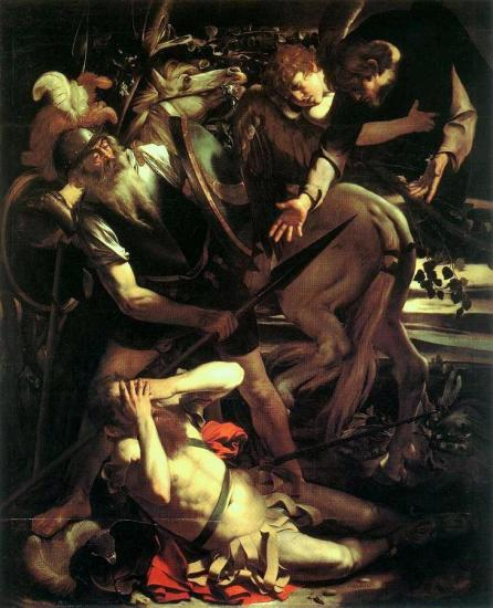 Caravaggio Conversione di San Paolo
