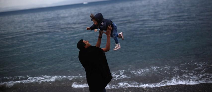 Come pensavate che potesse essere la foto di un bambino morto annegato?