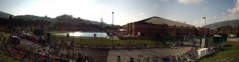 Nuova piscina a Sestri Levante foto