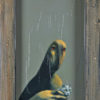 2011 - Pittura lavabile su legno 30x45. Water paint on wood 30x45.