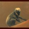 2011 - Pittura lavabile su legno 17x14. Water paint on wood 17x14.
