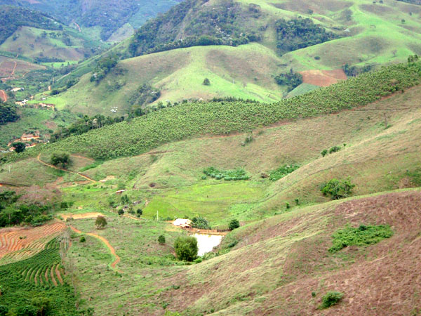 Leste de Minas region (Brazil). Landscape. Photo by: RETE-REDE team