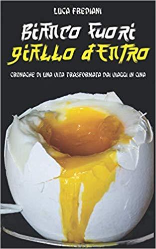 Bianco Fuori giallo dentro, copertina