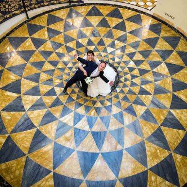 fotografo matrimonio regina palace
