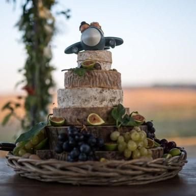 torta di nozze particolare