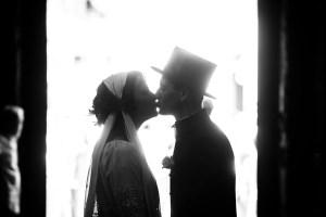 wedding photo bw