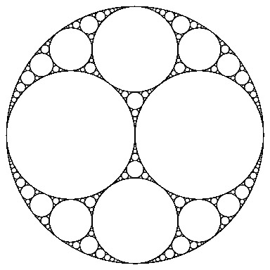 Apollonian gaskets: beautiful math can be simple