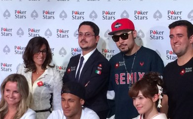Il nuovo PokerStars Ambassador: Neymar