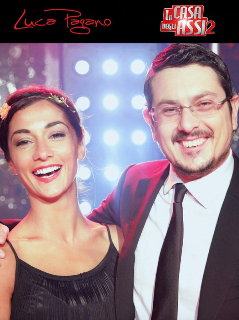 Con Romina