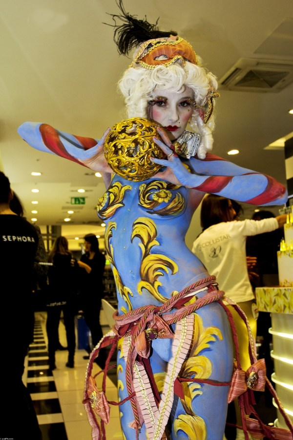Sephora Body Painting February 2013