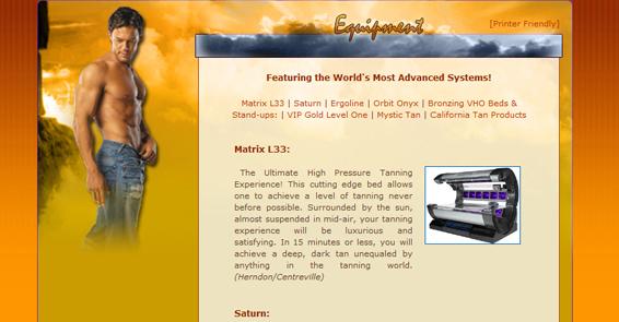 Sun Splash Tanning Centers - Services Page