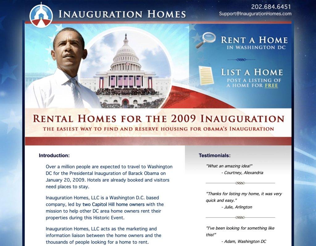 Inauguration Homes