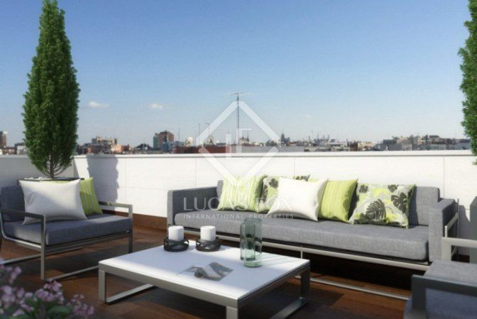 Apartmentos con terraza en Madrid  Lucas Fox