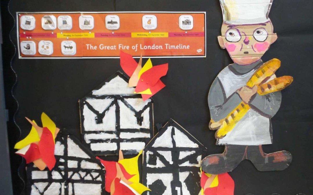 Year 2 Dyson – London's Burning!