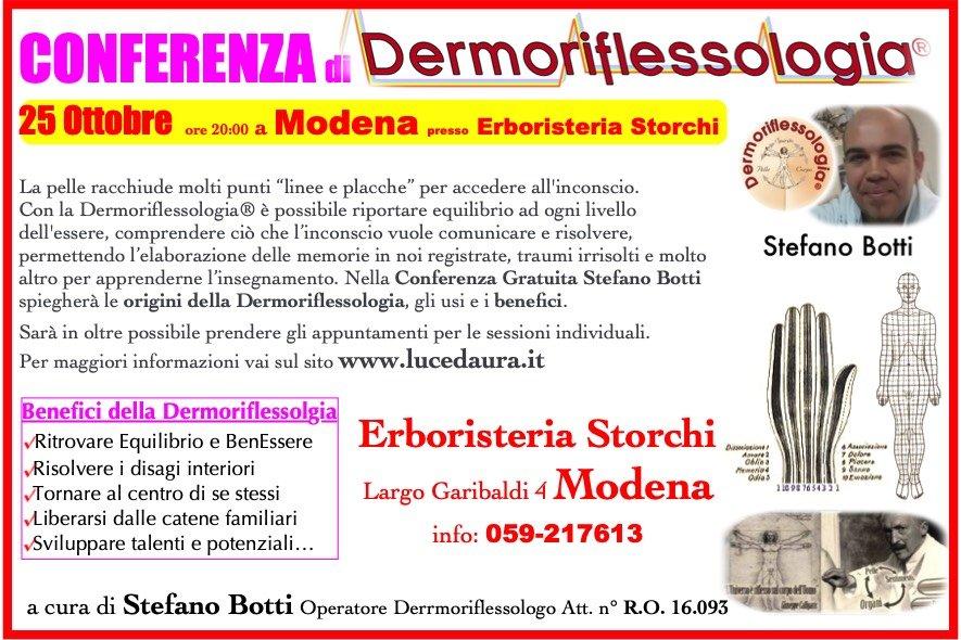 dermoriflessologia modena giuseppe calligaris