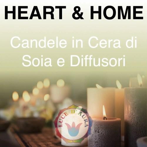 Heart & Home Candele di Soia