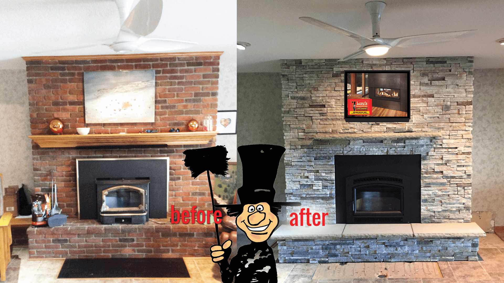 #1 Fireplaces Heating Stoves Chimney Services Toledo