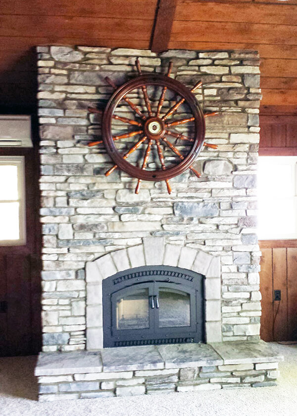 Fireplace Remodeling  Construction  Luces Chimney  Stove Shop