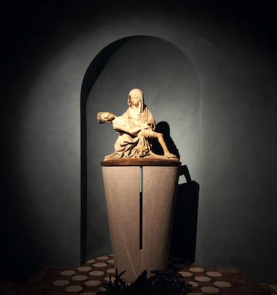 cappella dell'addolorata con pietà lignea, duomo di gemona