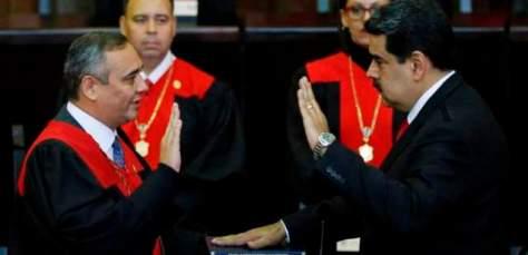 Toma de posesión de Nicolás Maduro