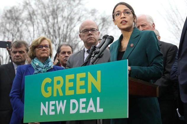 Green New Deal AOC