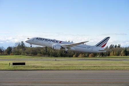 Air France (AFA); 787-8; Take Off; Everett; Left Side View; K66597; 2016-11-30