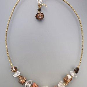 Lucia Antonelli Jewelry Healing Crystal Collar