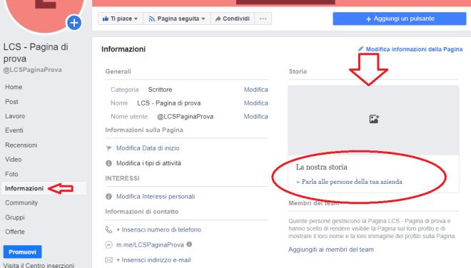 Come gestire una pagina Facebook - la nostra storia