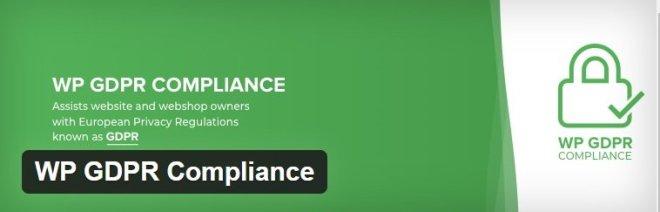 i plugin che non possono mancare - WP GDPR Compliance
