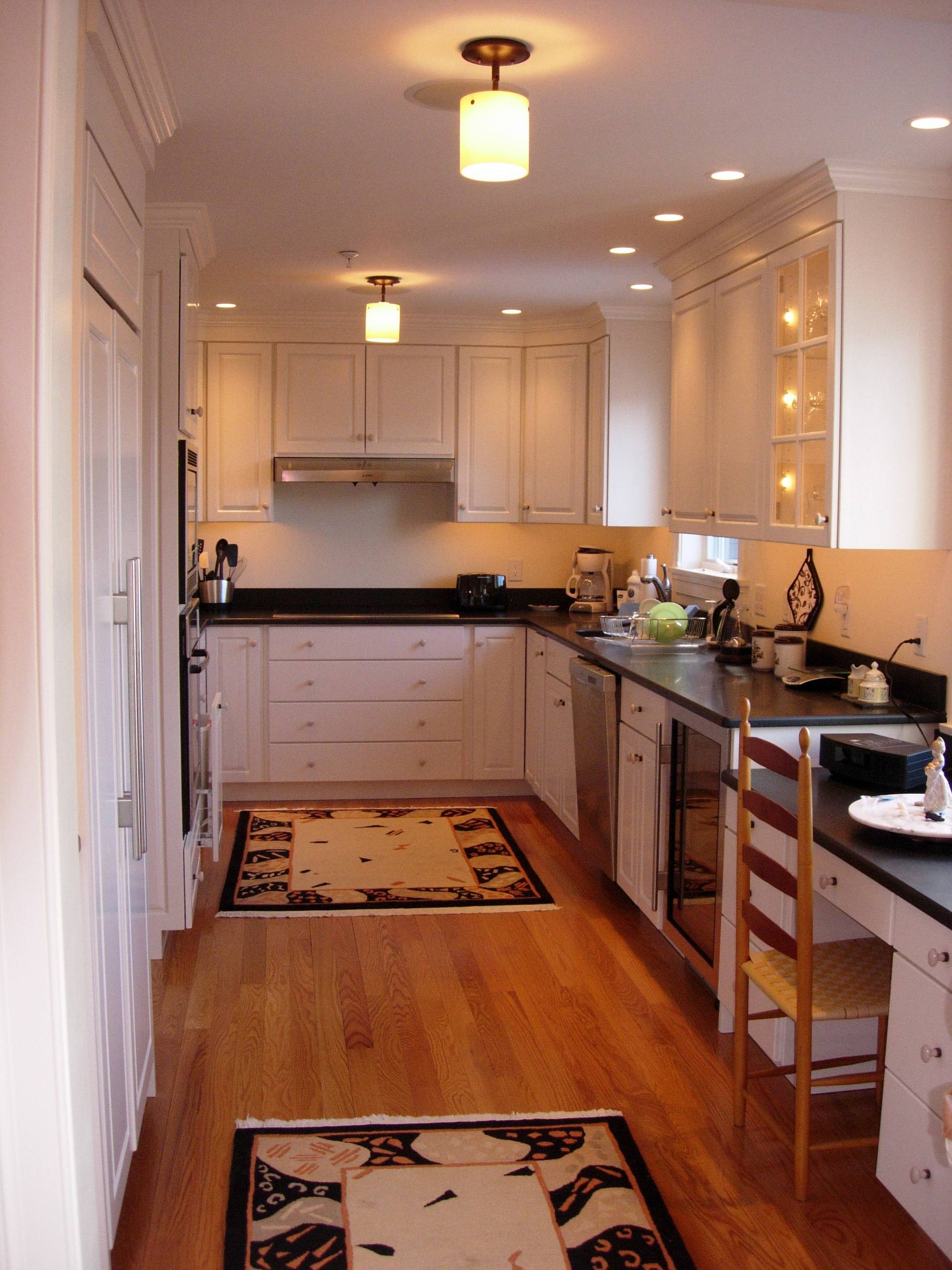Kitchen  Recessed Interior Design Lighting Solutions in