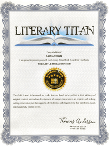Literary Titan Book Award - TLB