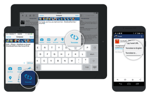 Traducción disponible en Hootsuite para dispositivos móviles