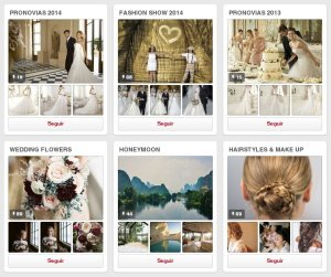 Tableros en Pinterest de Pronovias