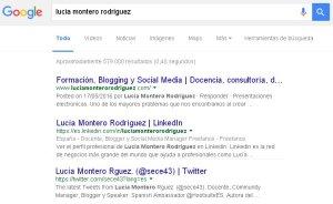 Buscando a Lucia Montero Rodriguez