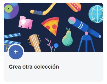 Crear una colección en Facebook