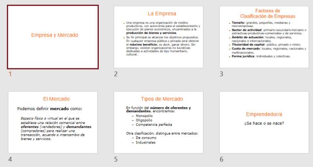 Presentación de muestra para gestionar su patrón de diapositivas