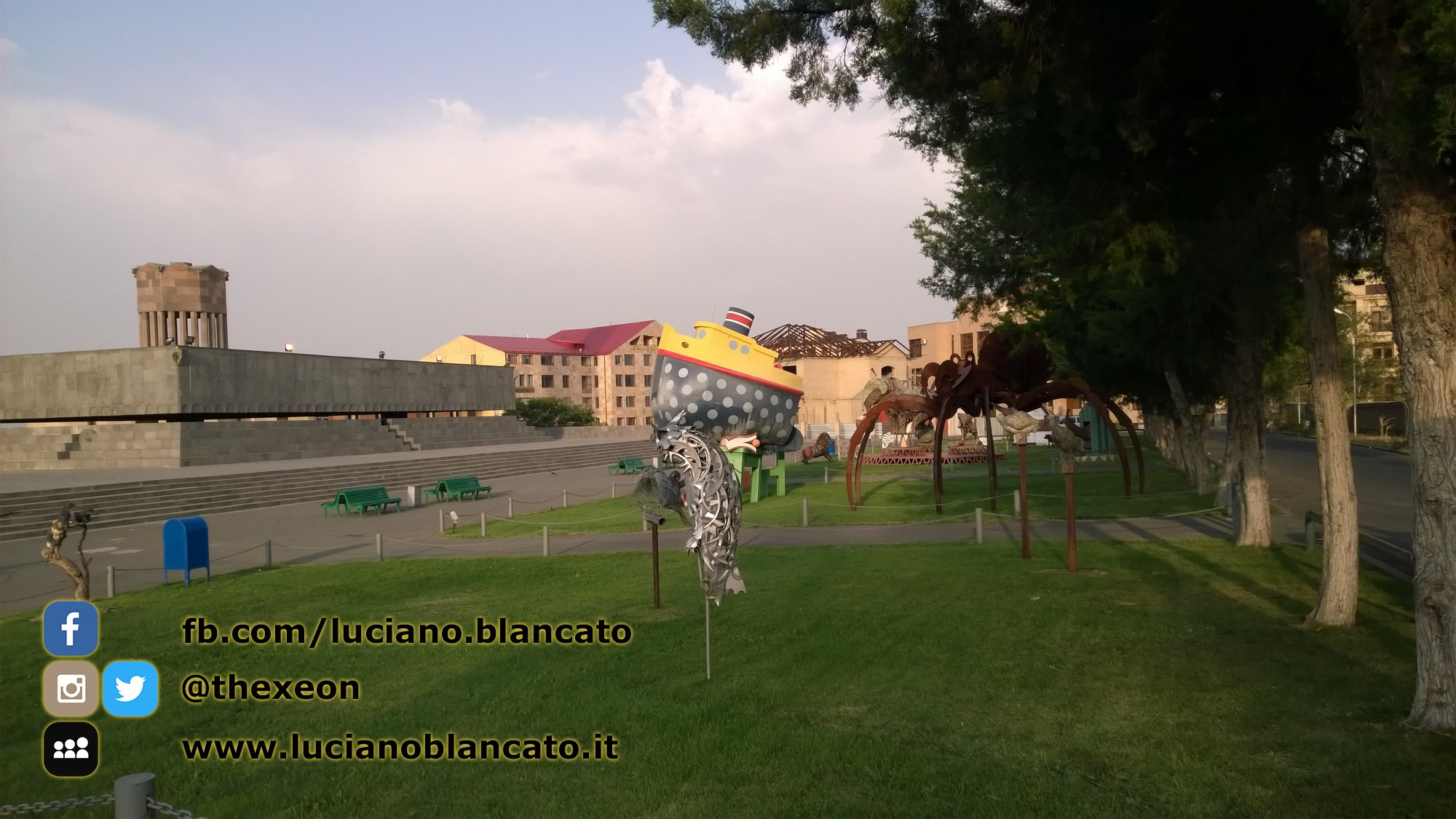Piazza/Parco ad Erevan