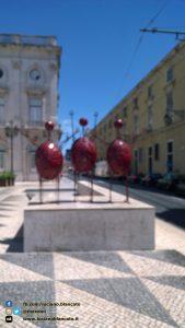 Lisbona - Praça do Município