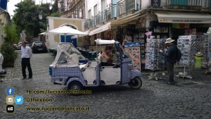 Lisbona - ape calessino