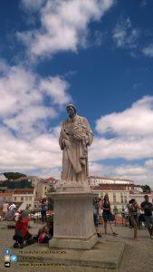 Estatua de Sao Vicente - Lisbona
