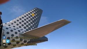 Lisbona - Vueling Airbus - a320 - dettaglio coda