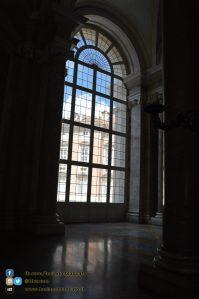 Reggia di Caserta - Appartamenti reali - dettaglio finestrone