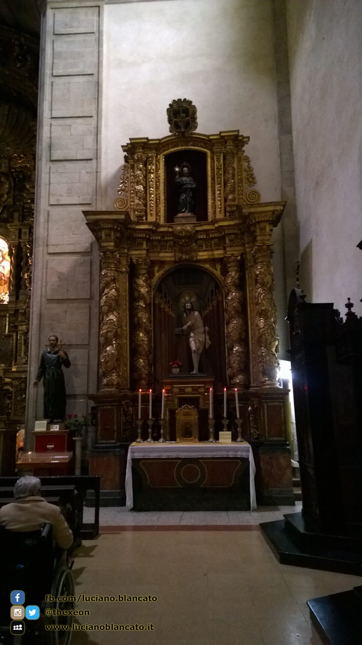 Santiago de Compostela - altare secondario