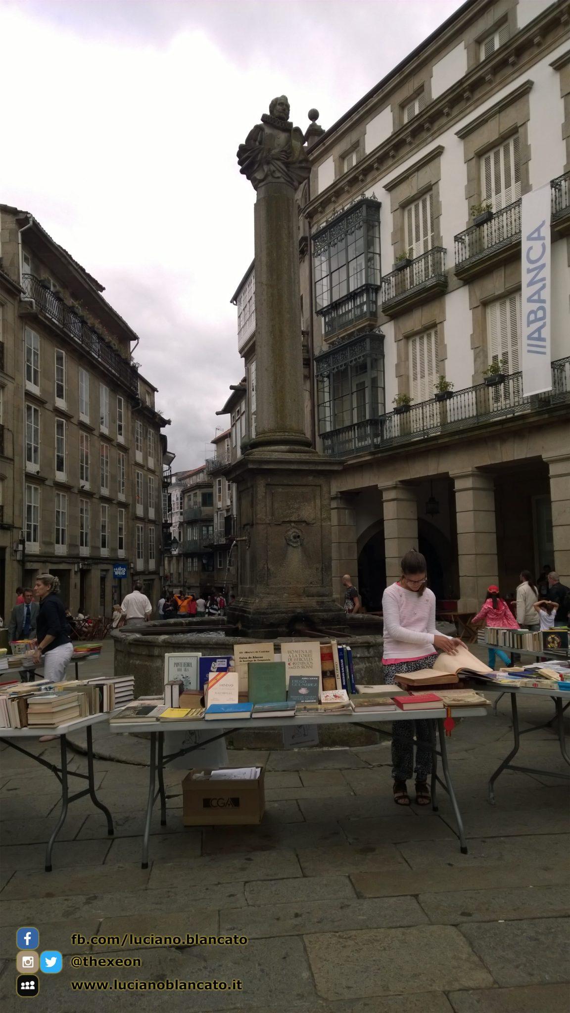 Santiago de Compostela - mercatino delle pulci