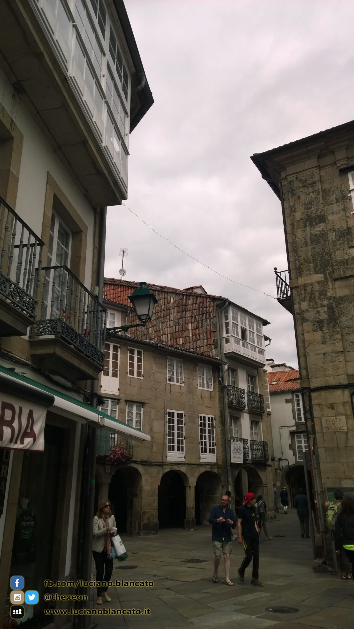copy_Santiago de Compostela - in giro per il centro storico